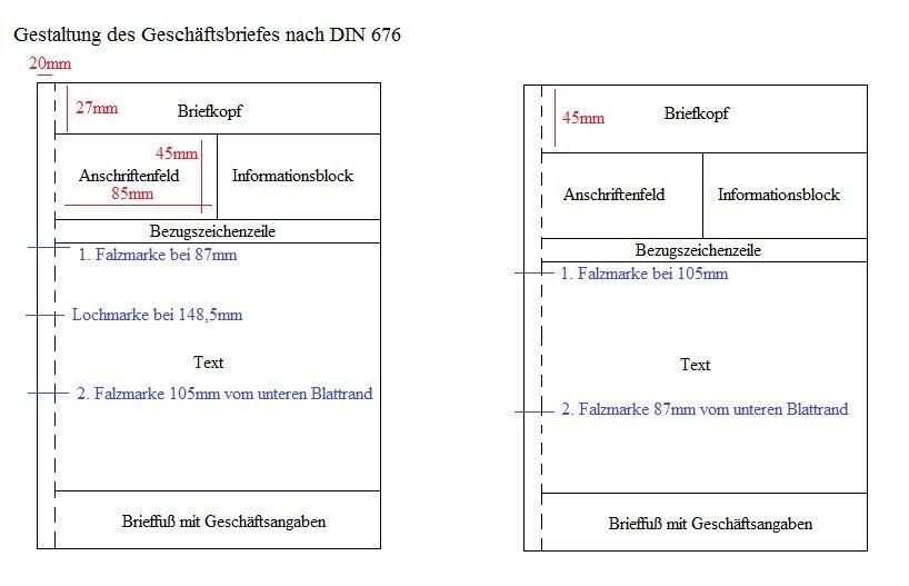 Briefe Grafiken und Diagramme › Vorlagen und Anleitungen